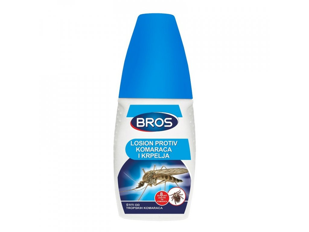 Bros repelent na komáre a kliešte aerosol 50ml