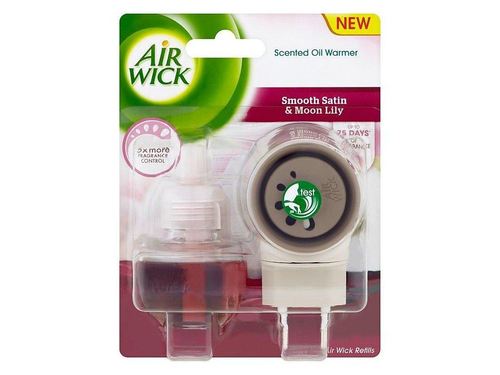 Air Wick Smooth Satin elektrický osviežovač + náplň 19ml