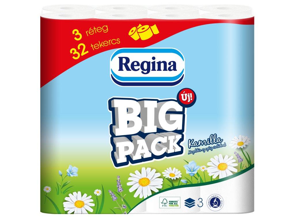 Regina Big Pack Kamilka toaletný papier 3vrst. 32ks