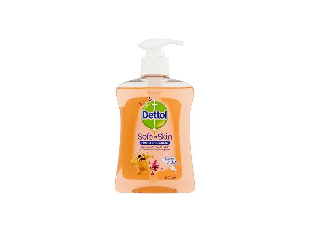 Dettol Fruity Bubbles tekuté mydlo pre deti 250ml