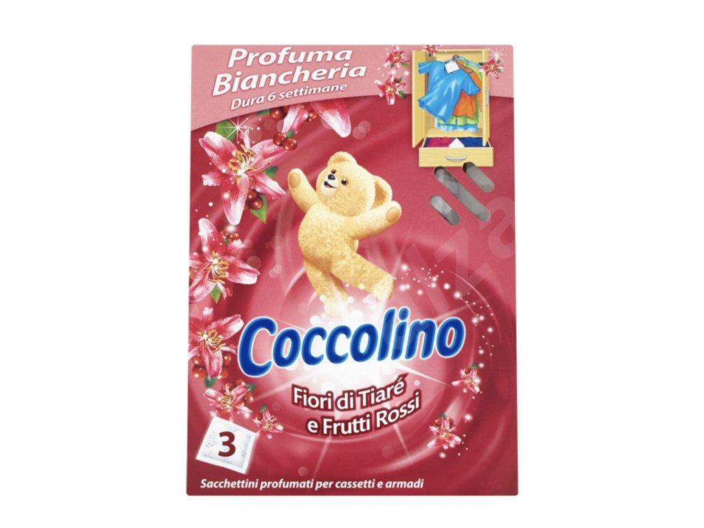 Coccolino voňavé vankúšiky Tiare 3 ks