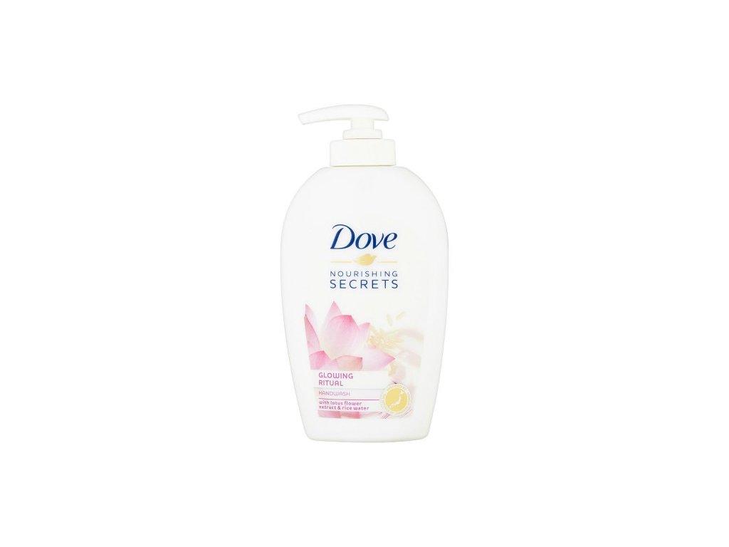 Dove Glowing ritual tekuté mydlo 250ml