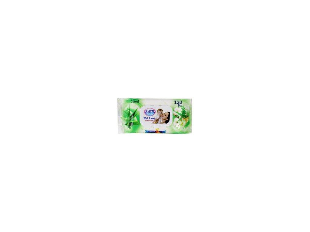 Lara Aloe vera vlhčené detské obrúsky 120 ks