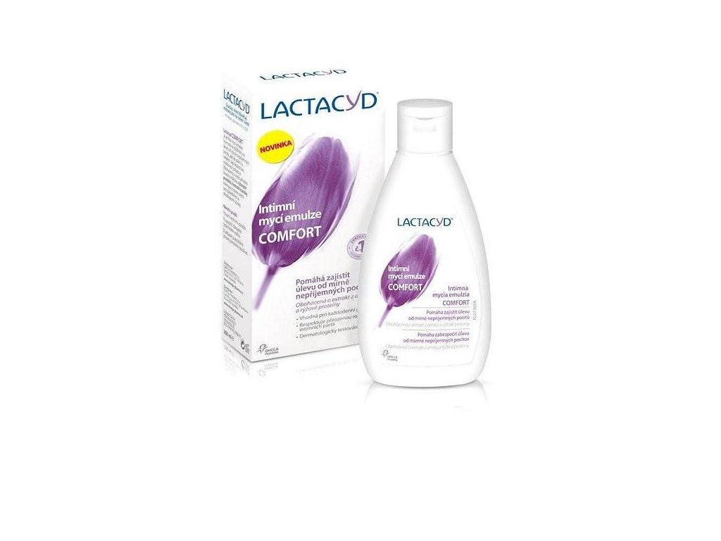 Lactacyd Comfort emulzia pre intímnu hygienu 200ml1