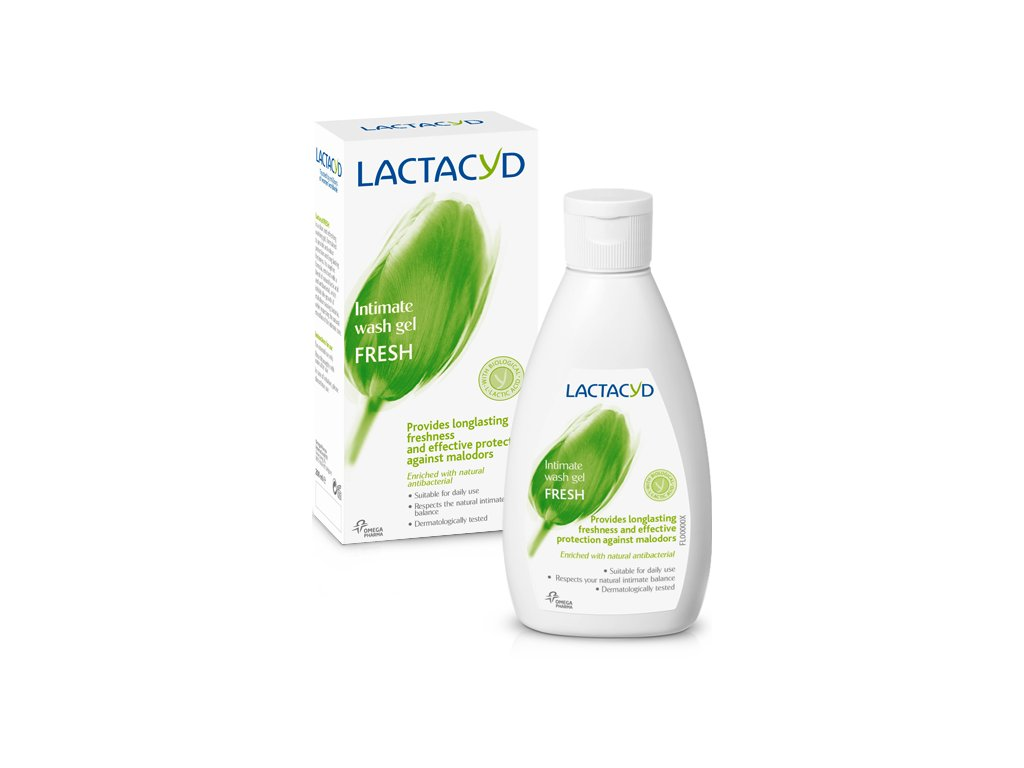 Lactacyd Fresh emulzia pre intímnu hygienu 200ml