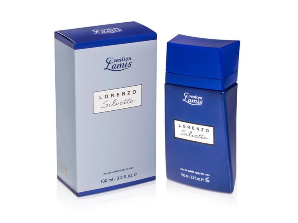 Creation Lamis Lorenzo Silvetto Men EDT 100ml (alternatíva Narciso Rodriguez )