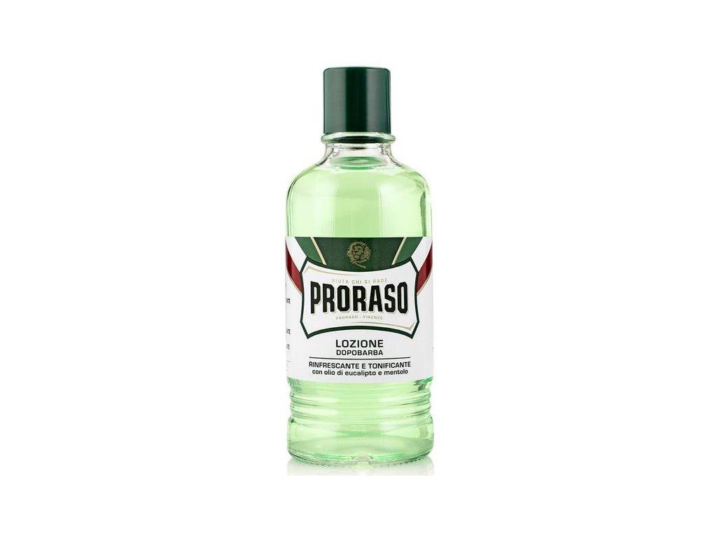 Proraso Green osviežujúca voda po holení (Eucalyptus Oil and Menthol) 400 ml1