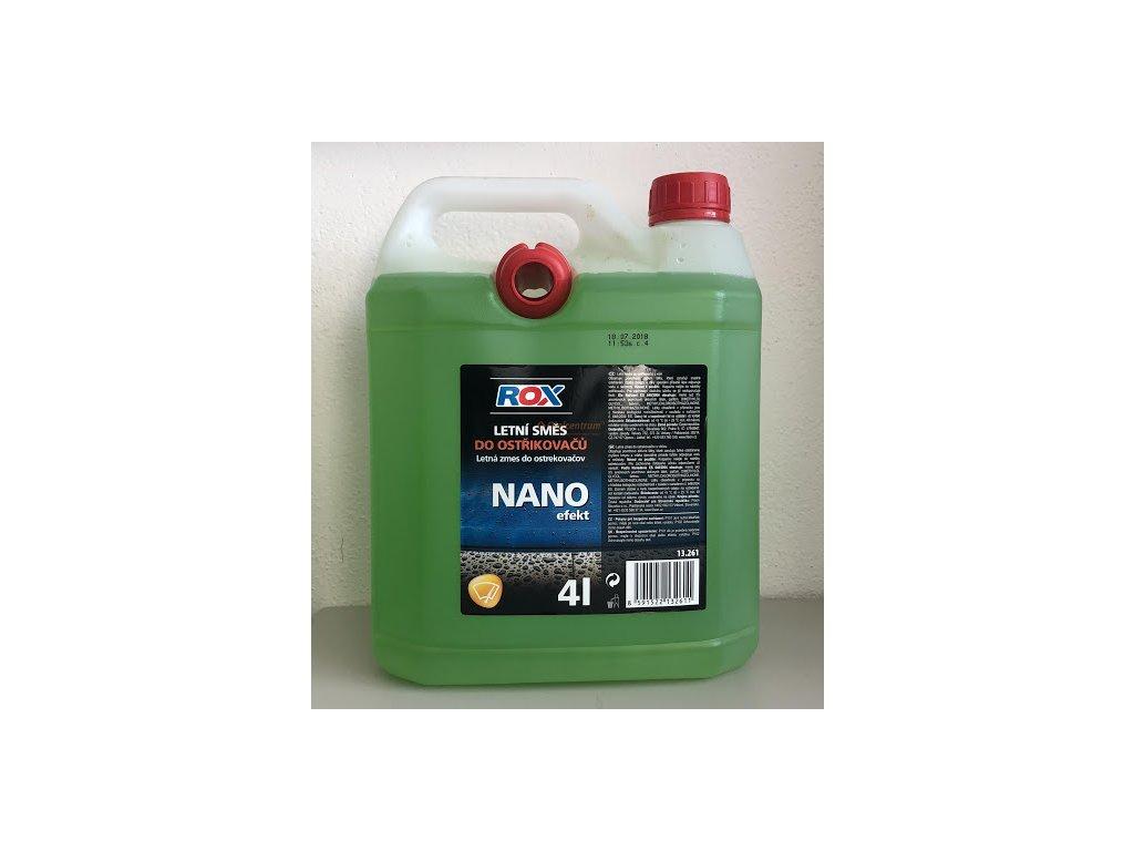 Rox Nano Efekt letná zmes do ostrekovačov s vôňou 4l