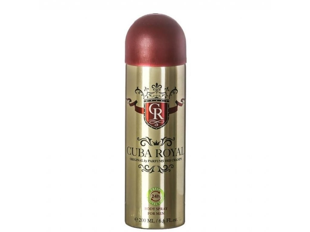 Cuba Royal dezodorant pre mužov 200ml