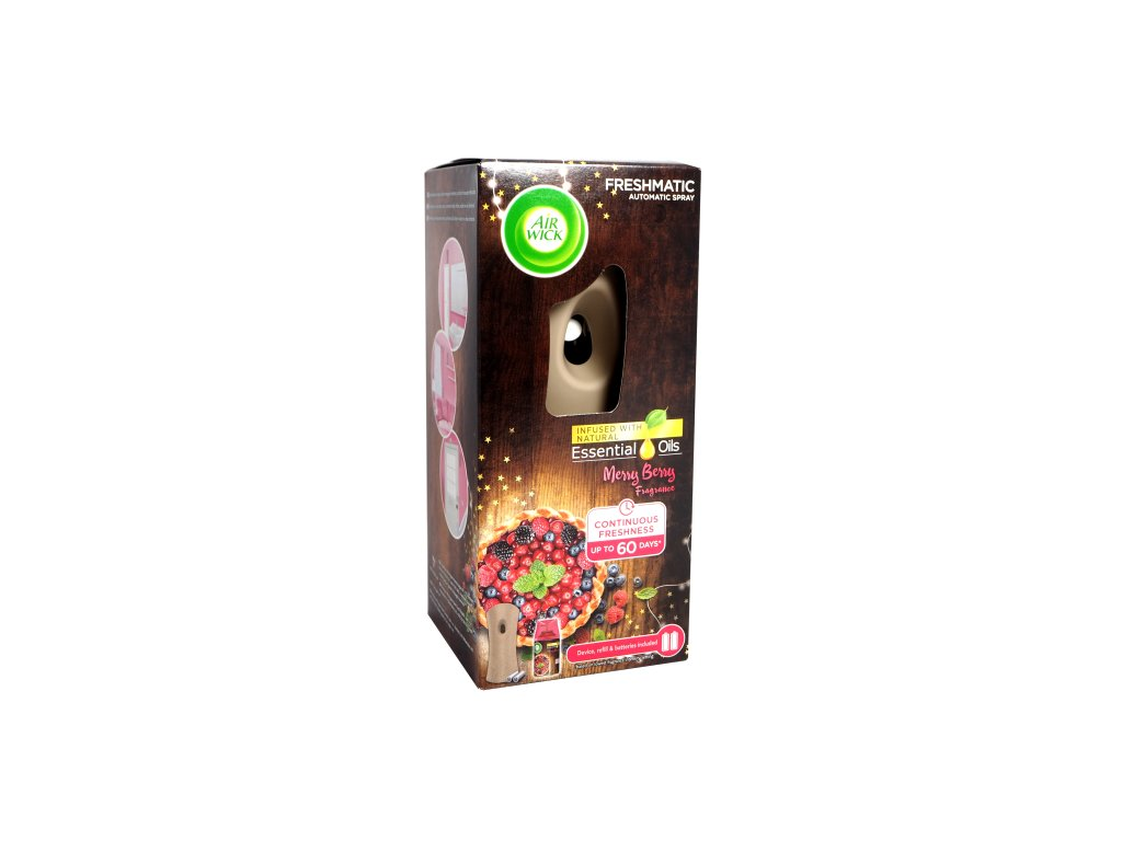 Air Wick Freshmatic Merry Berry 250ml + strojček
