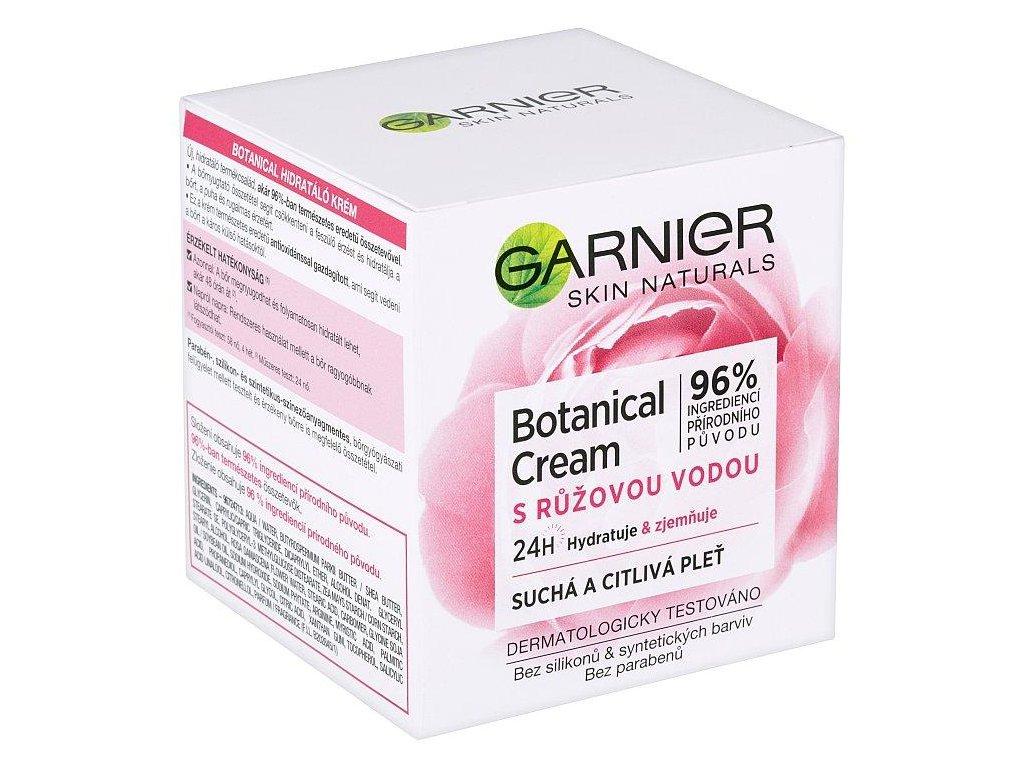Garnier Skin Naturals Botanical hydratačný krém s ružovou vodou 50 ml