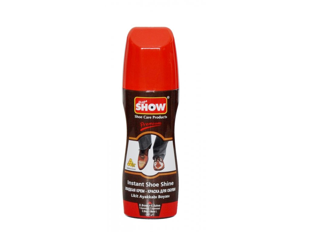 Show Maxi tekutý čistiaci prostriedok na hnedé topánky 75ml
