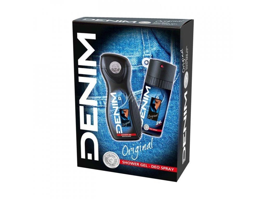 Denim Original sprchový gél 250ml + deodorant 150ml darčekový set