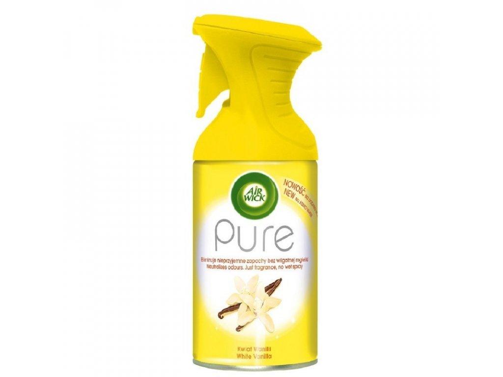 Air Wick Pure White Vanilla osviežovač vzduchu 250ml