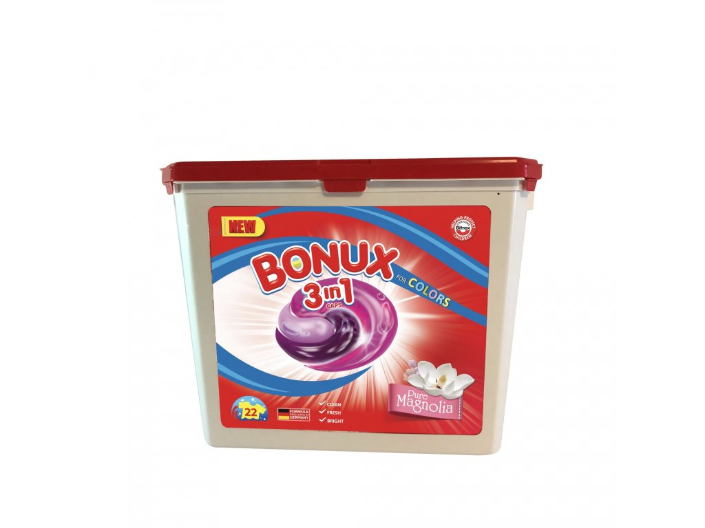 Bonux Pure Magnolia gélové kapsule 22ks