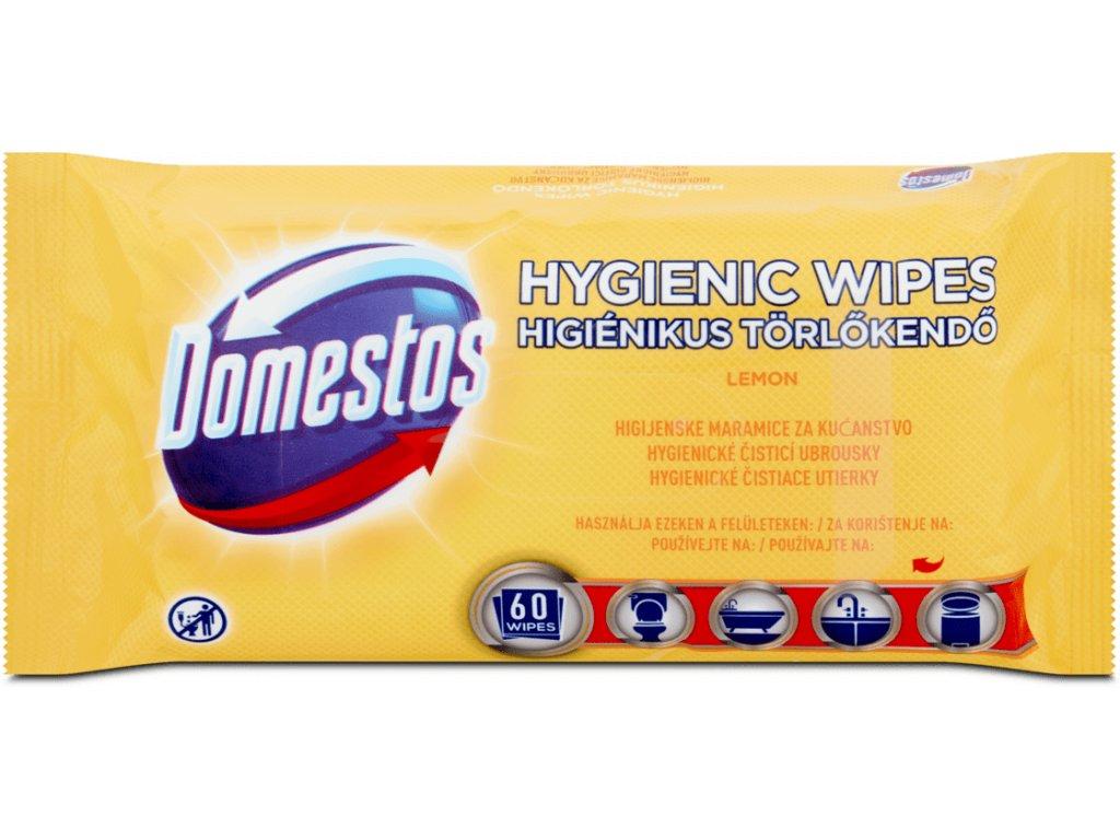 Domestos hygienické čistiace utierky Lemon 60ks