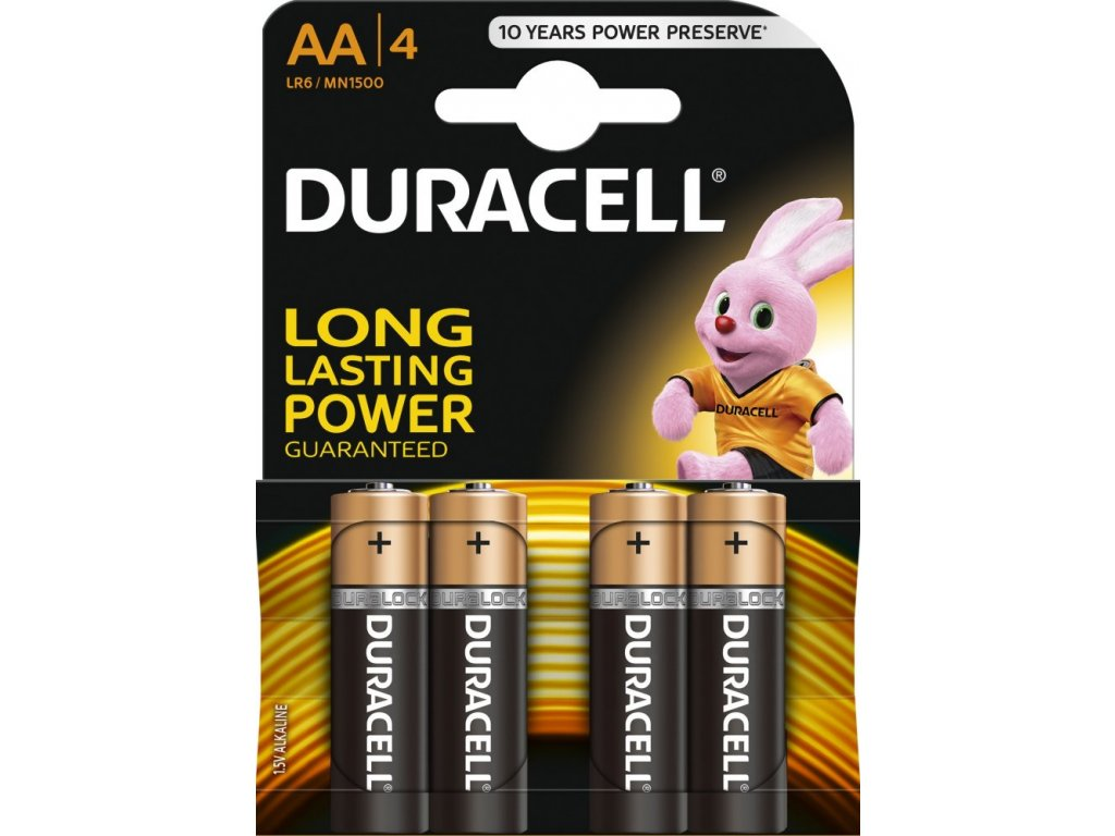 duracell AA 4