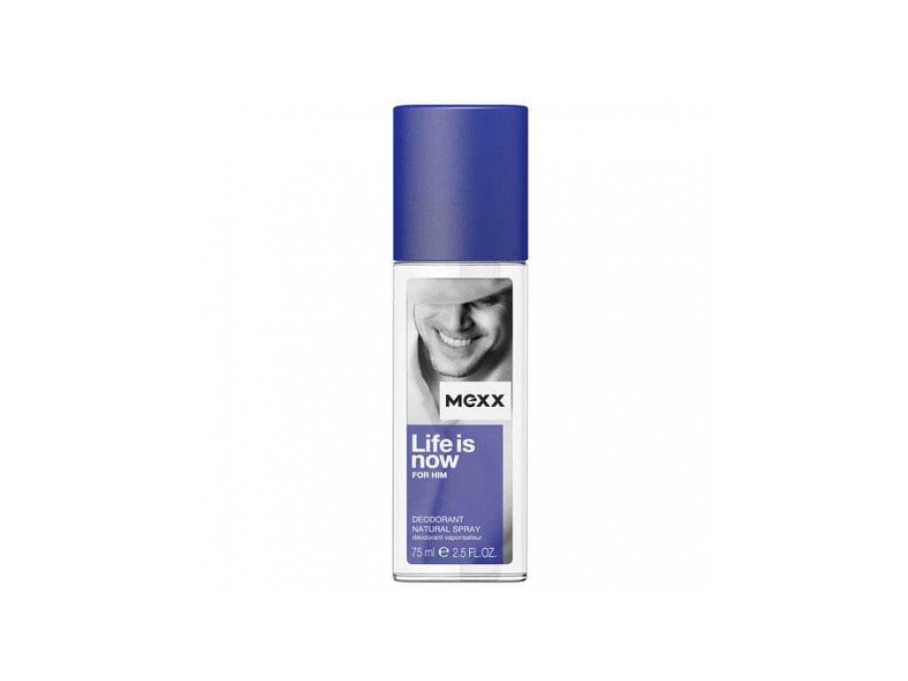 mexx life is now for him 75ml deo