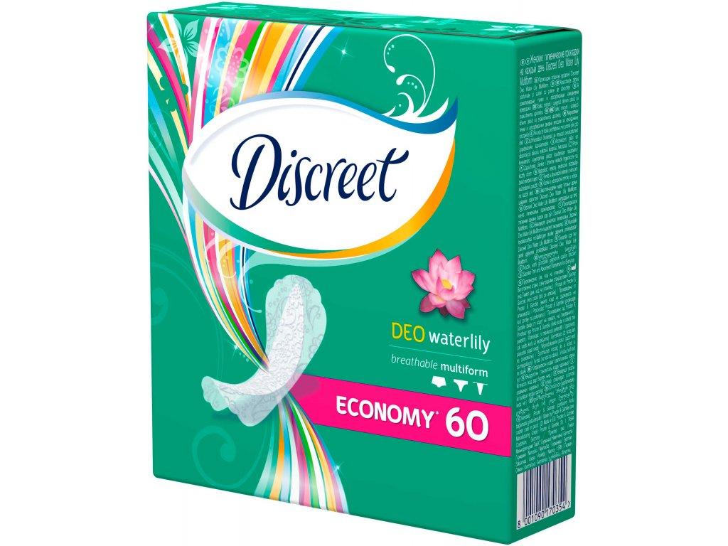 Discreet Deo Waterlily hygienické vložky 60ks