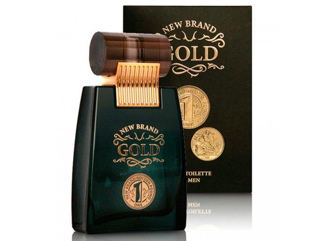 New Brand Prestige Gold EDT 100ml (Paco Rabbane 1 Million)