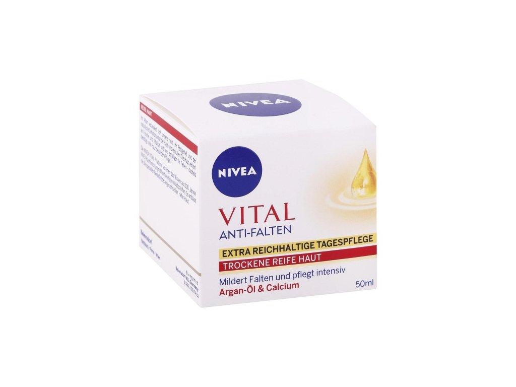 NIVEA Vital Argánový olej a kalcium 50 ml