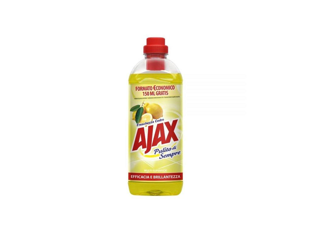 Ajax Citrón čistiaci prostriedok na podlahy 1l