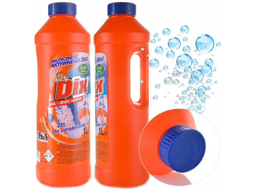 DIX gél na čistenie odpadov 1l