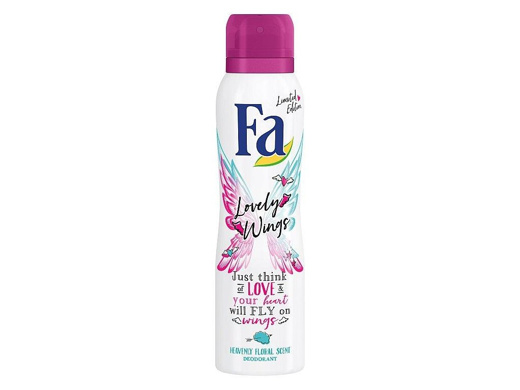 Fa Lovely Wings deodorant sprej 150ml