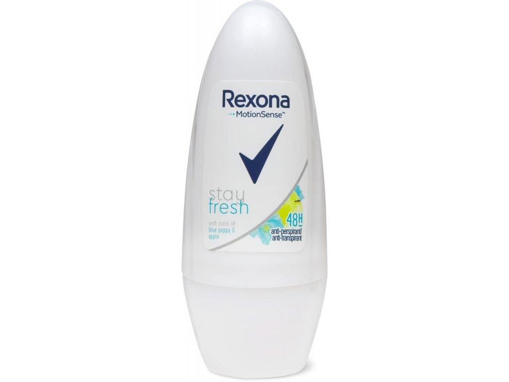 Rexona roll on Stay Fresh Blue Poppy & Apple 50ml