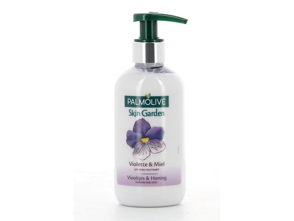 Palmolive Skin Garden Violette & Miel telové mlieko s pumpičkou 250ml