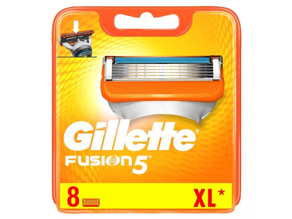 Gillette Fusion 5 náhradné čepieľky 8ks