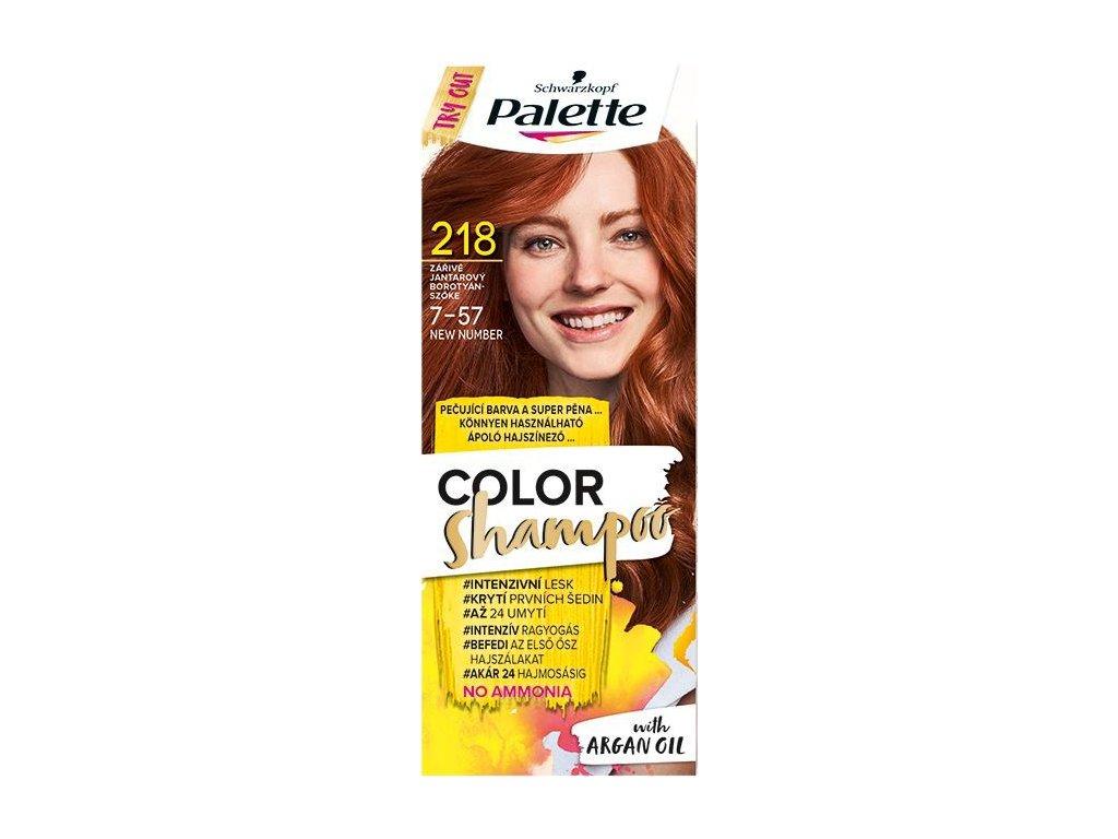 PALETTE Color Shampoo 7 57 Jantárový