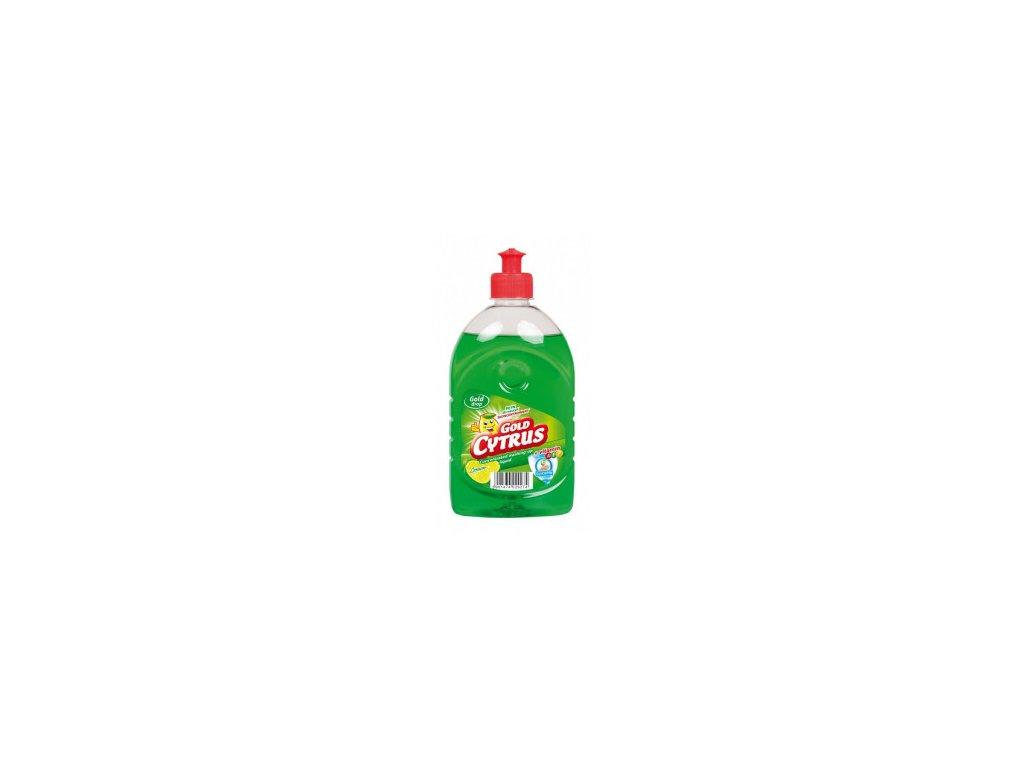 GOLD CYTRUS citrón prostriedok na umývanie riadu 500ml
