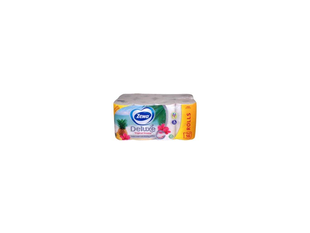 Zewa Deluxe Aquatube Tropical dreams toaletný papier 16ks