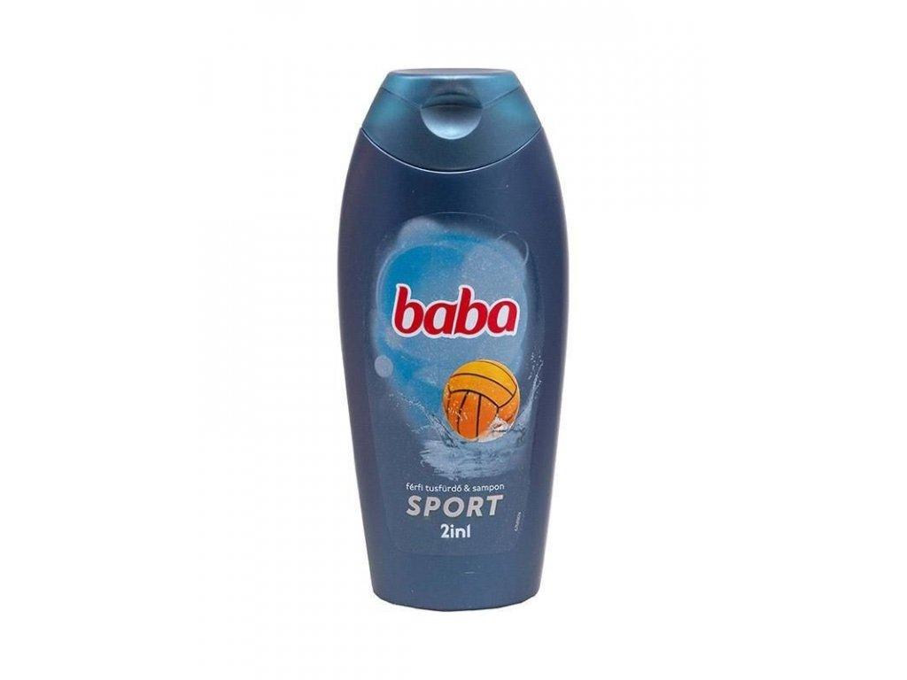 Baba Men sprchový gél 2in1 Sport 400 ml