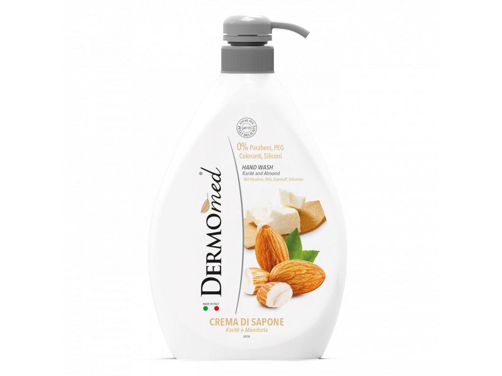 Dermomed Karité and Almond mydlo s pumpičkou 1000ml