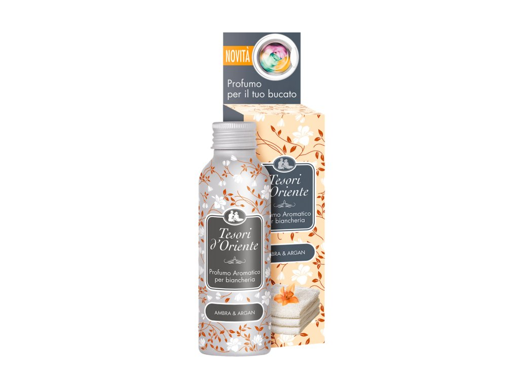 Tesori d'Oriente Ambra & Argan koncentrovaný parfém na prádlo 100ml