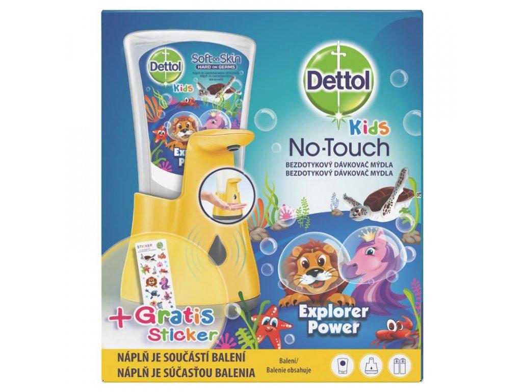 Dettol No Touch Kids bezdotykový dávkovač + náplň 250ml