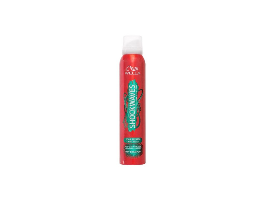 Wella Shockwaves Refresh & Root Revival suchý šampón 180ml