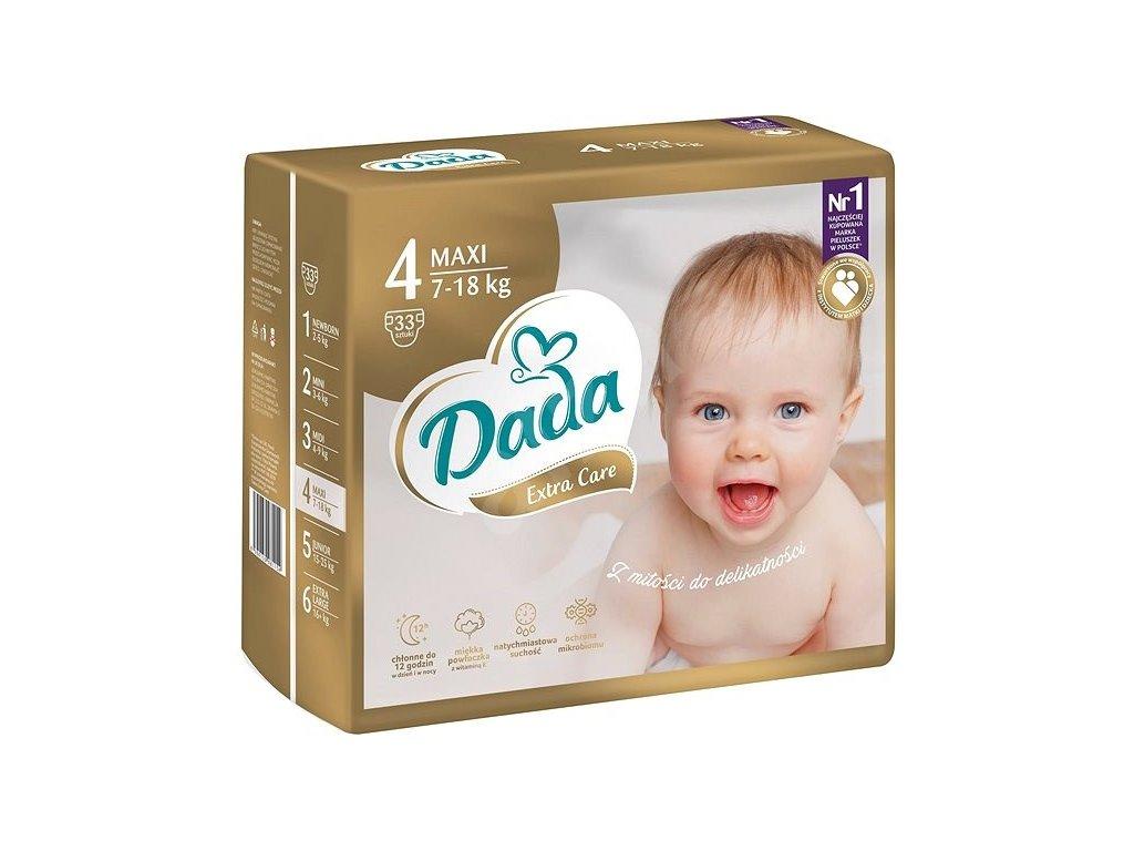 Dada Premium Extra Care Maxi 4 plienky 33ks 7 18kg
