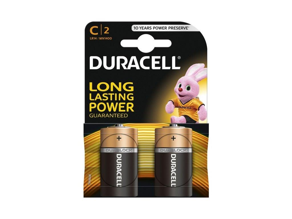 DURACELL LR14 C 1.5V batéria 2ks