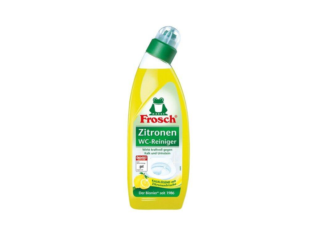 Frosch EKO WC čistič citrón 750 ml