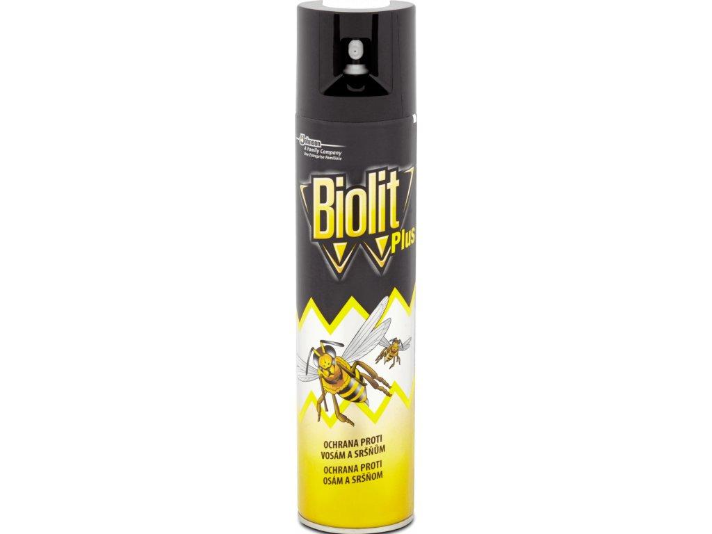 Biolit Plus proti osám a sršňom 400 ml
