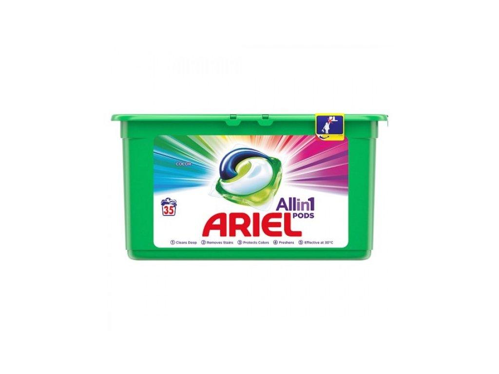 ariel all in 1 pods color g lov kapsuly na pranie 35 pran