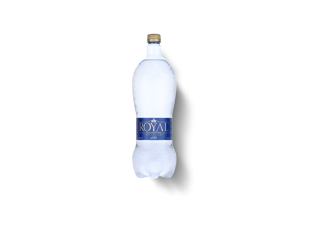 Royal Water prírodná voda nesýtená s pH 9,3 Ionized Water 1,5l