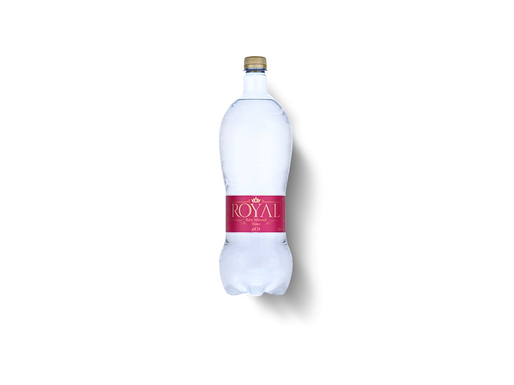 Royal Water minerálna voda Baby nesýtená s pH 7,4 1,5l