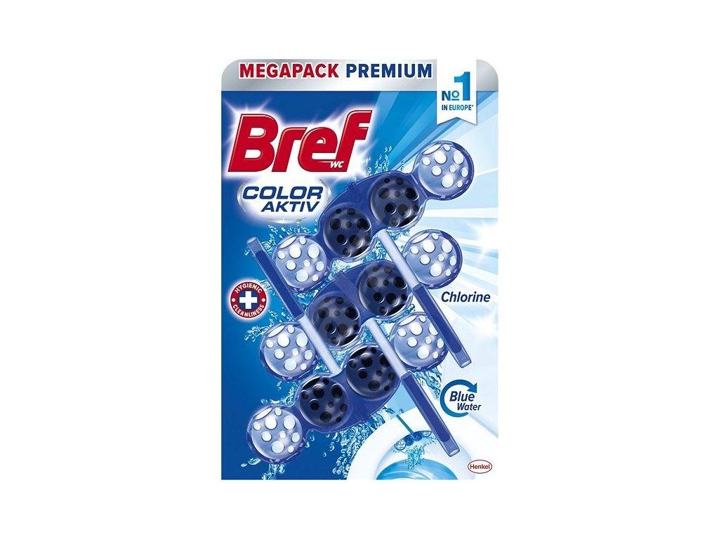 Bref Color Active Chlorine WC Blok 3x50g