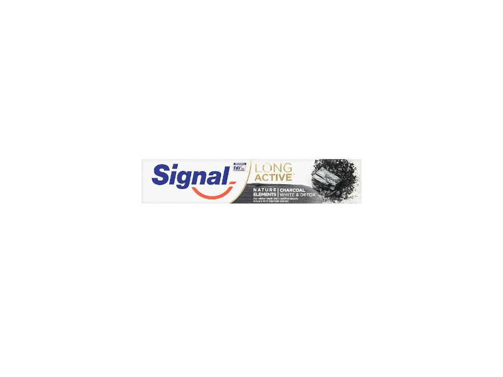 Signal Long Active Nature Elements Charcoal zubná pasta 75 ml