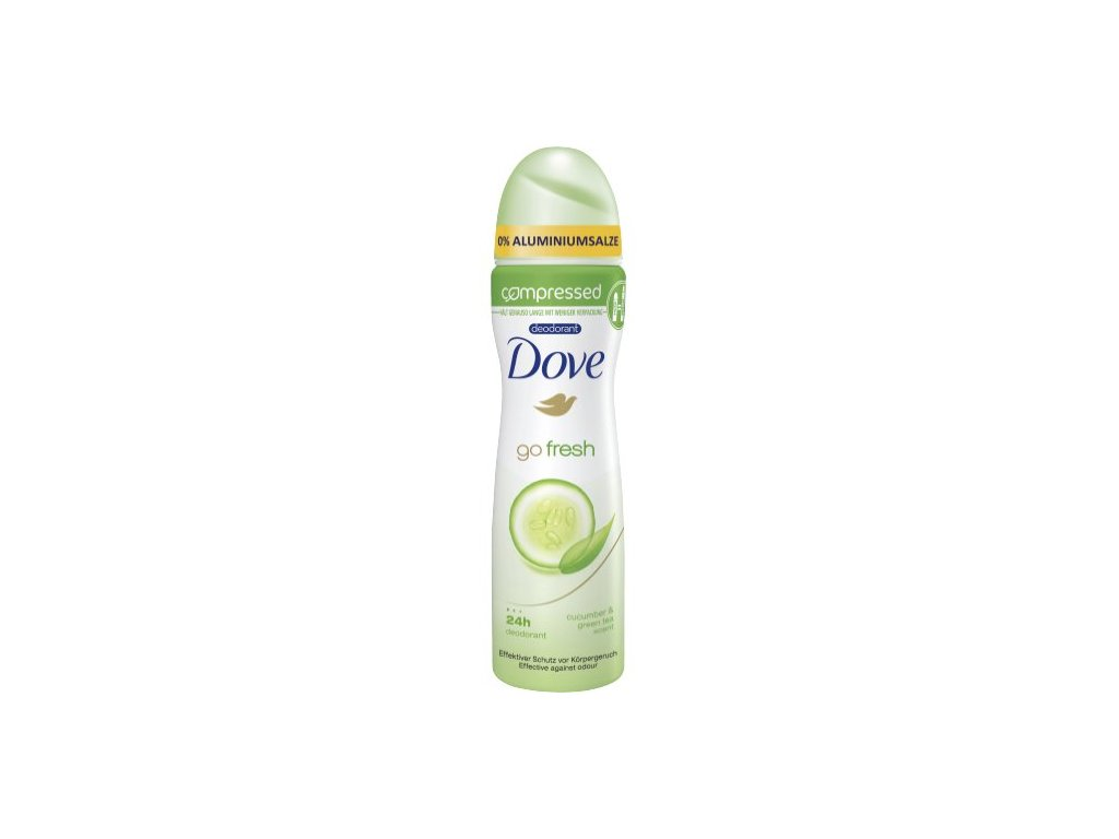 Dove Go fresh Compressed Uhorka deodorant 75ml