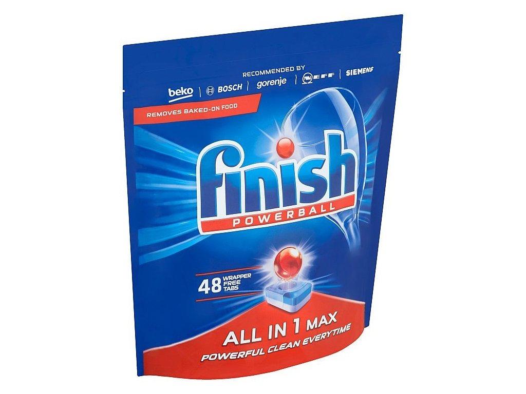 Finish Powerball All in One Max tablety do umývačky riadu 48ks